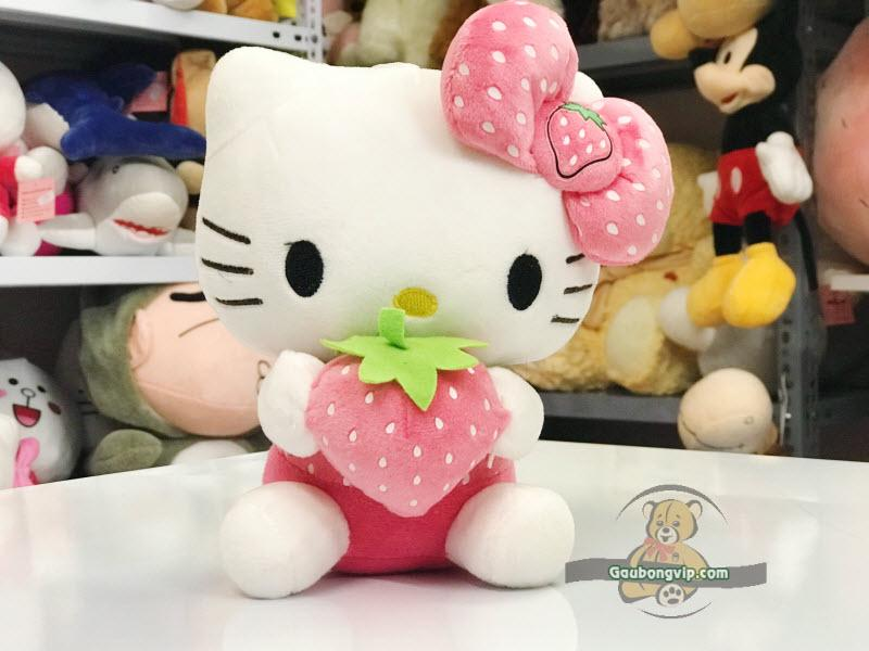 Hello kitty dâu